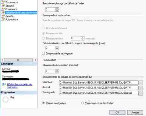 Comment démarrer le service SQL Server ?