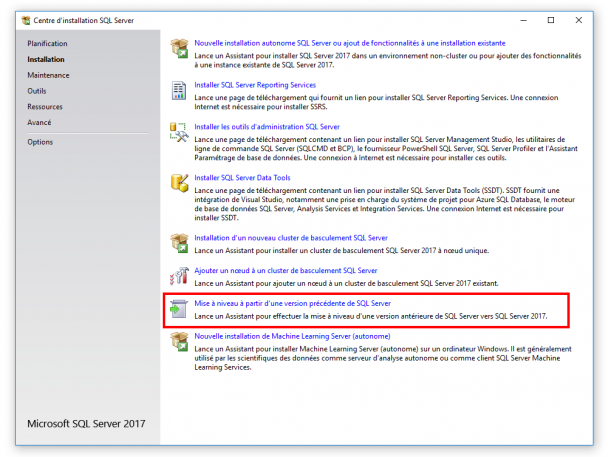 Comment savoir si SQL Server est installé?