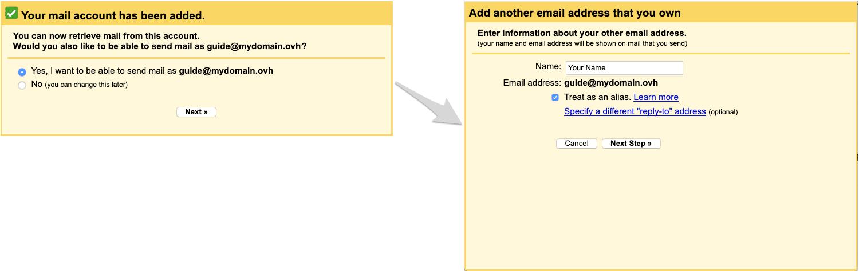Comment configurer boite mail OVH ?