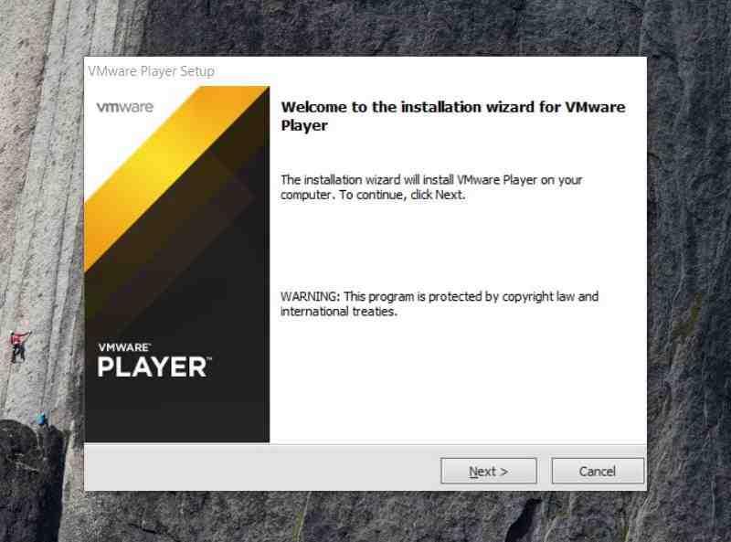 Comment installer VMWARE ?