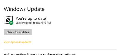 Windows 10: la build 1904X.1263 disponible en Release Preview